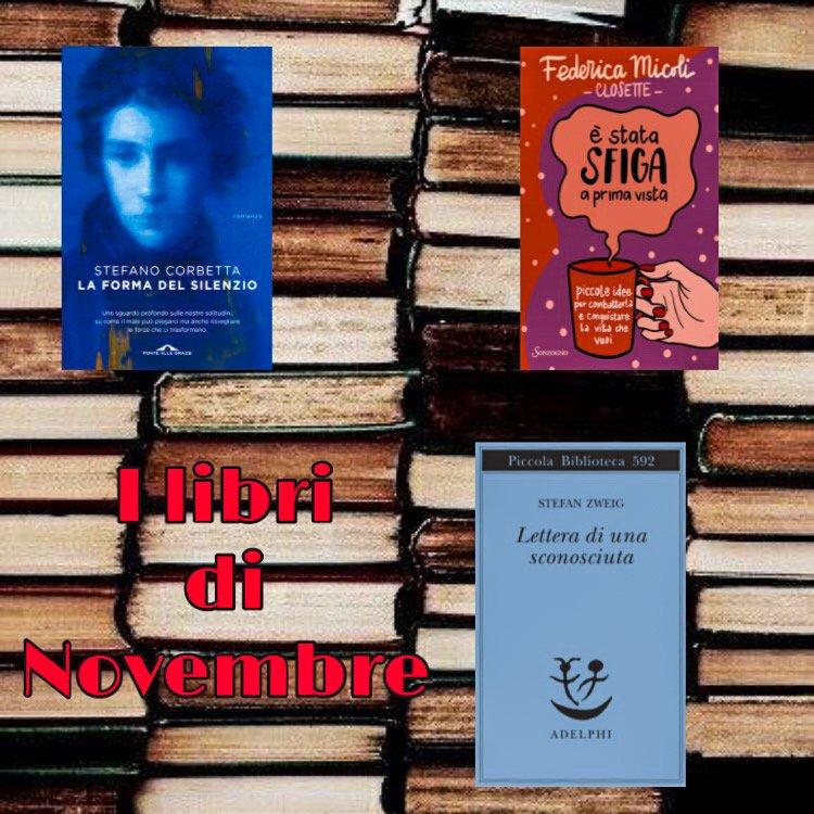 I libri di Novembre