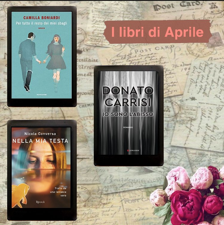 i libri di Aprile